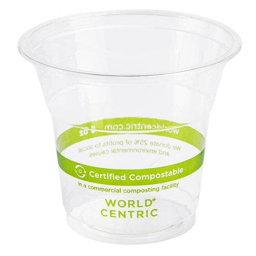 World Centric 5 oz Compostable Cold Cup | PLA |Sample