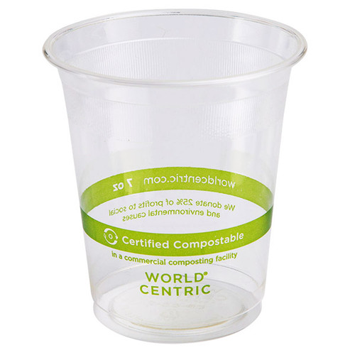 7 oz Compostable Cold Cup | PLA | Sample
