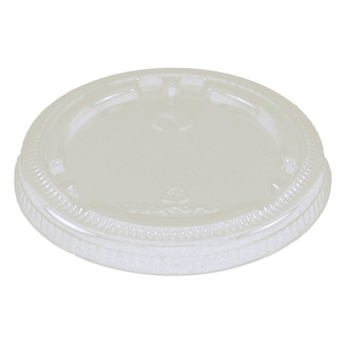 PLA Lid | No Straw Hole | Fits 4 to 9 oz Cold Cup | Sample