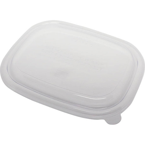 PLA Lids for Fiber To-Go Boxes
