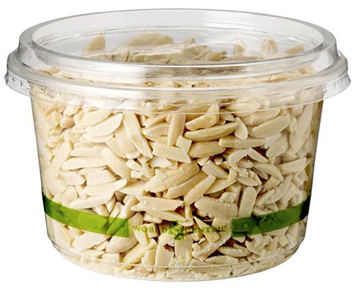 16 ounce Clear Round Deli  | Sample