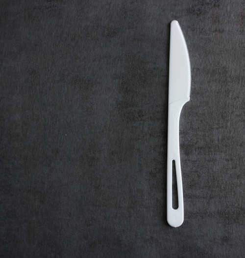 "6"" Compostable Knife Sample"