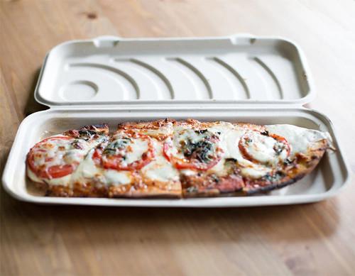 Fiber Flatbread Pizza Box Sample