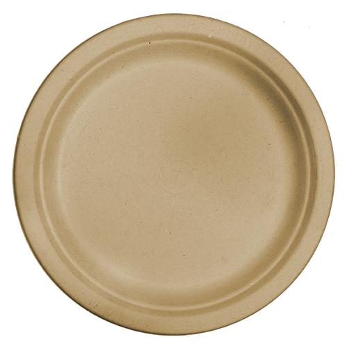 "9"" Fiber Round Plate"