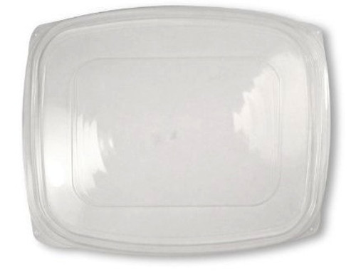 PLA Lid | Fits 48 & 64 oz Rectangular Deli | Sample