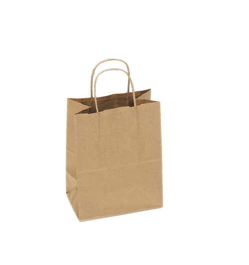 Kraft Recycled Shopping Bag Sample S-S04NK