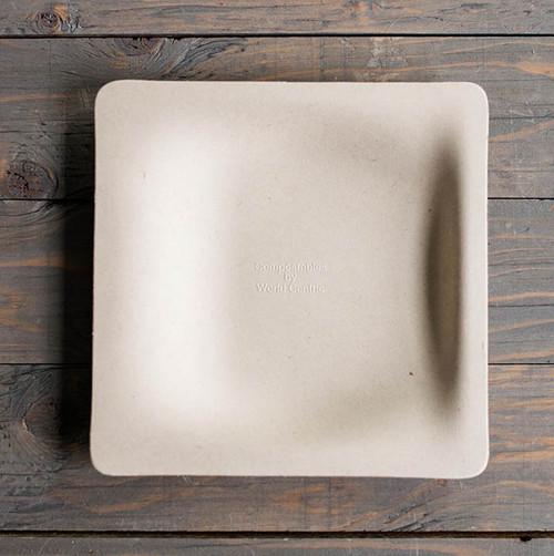 "7"" Fiber Square Plate Sample"