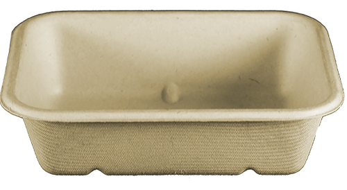 Fiber Boat/Tray | 6.5 x 5 x 1.5 | Sample