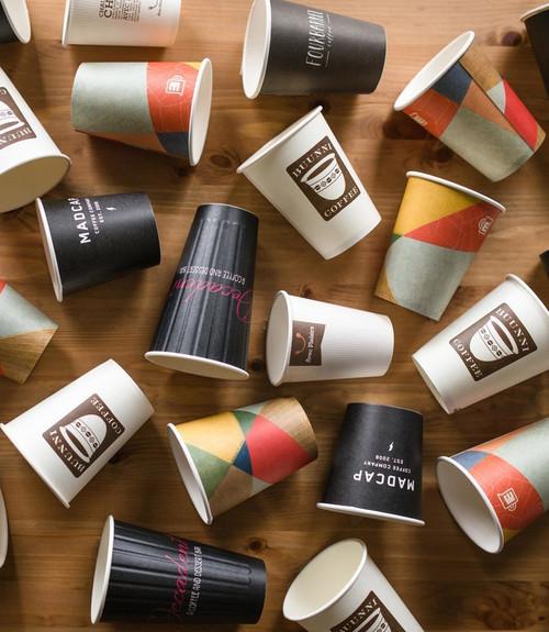 Custom Printed Coffee Cup Sample