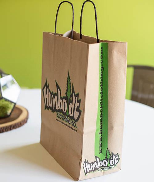 Custom Printed paper Handle Bags