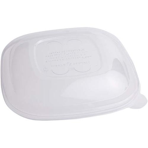 PLA Lid for 24-48oz Square Fiber Bowls BQL-CS-24