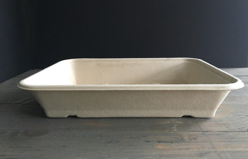 Fiber Tray | 36 oz | 9.4 x 7.1 x 1.8 | 400 count