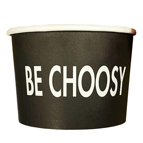 "16 oz ""Be Choosy"" Paper Bowls   500 count"