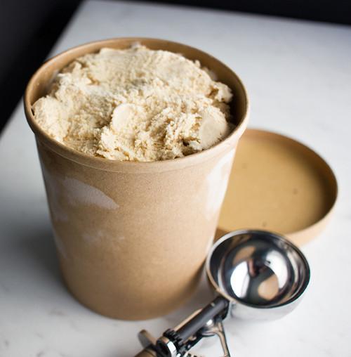Ice Cream/Soup Quart | With Lid | Sample