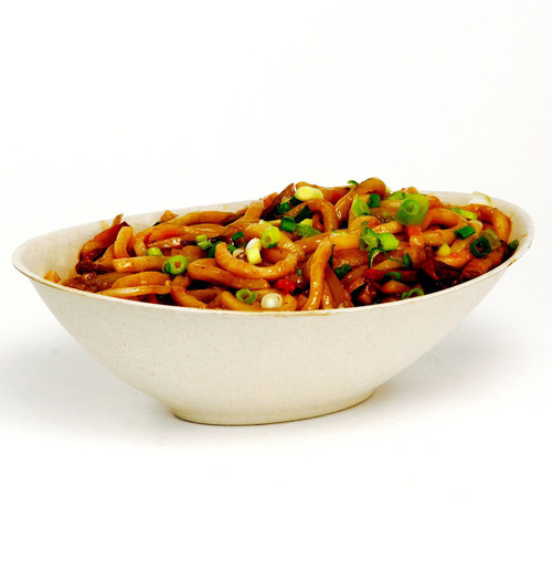 24 oz Oval Fiber Bowl BV-SC-U24