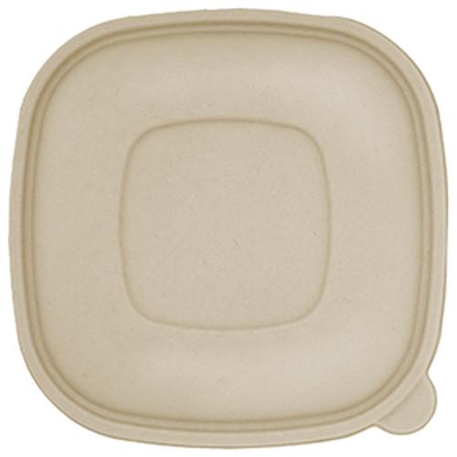 Fiber Lid | Fits 24-48 oz Square Fiber Bowls | Sample