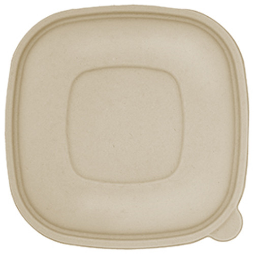Sample Fiber Lid Fits 24-48 oz Square Fiber Bowls