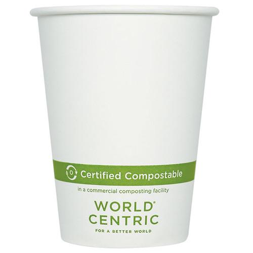 Custom Printed 12 oz Compostable Coffee Cups