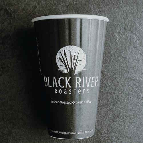 Custom Printed 16 oz double wall compostable coffee cups