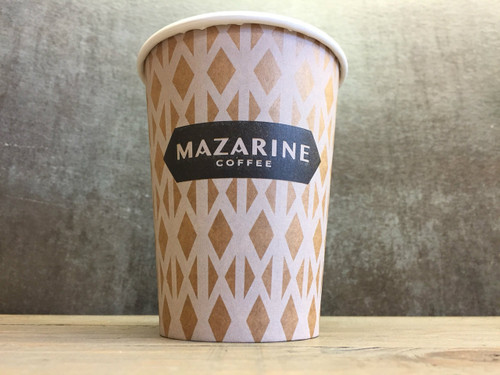 16 oz Custom Kraft Compostable Hot Cups