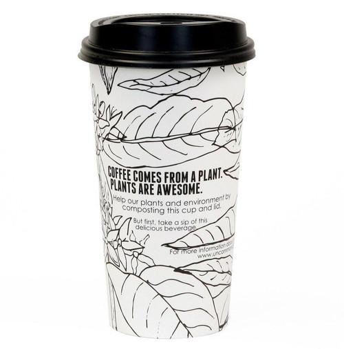 Custom Printed 20 oz Compostable Coffee Cup