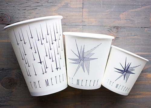4 oz Custom Printed Paper Coffee Cups