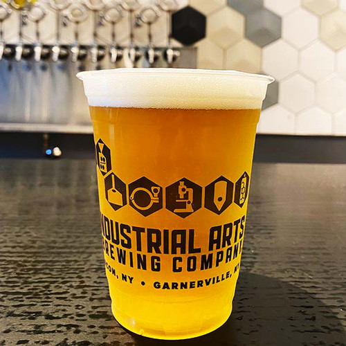 16 oz Compostable Cold Cups   PLA   Custom Printed   1000 count