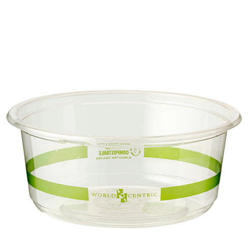 Custom Printed 12 oz Clear Round Deli Containers