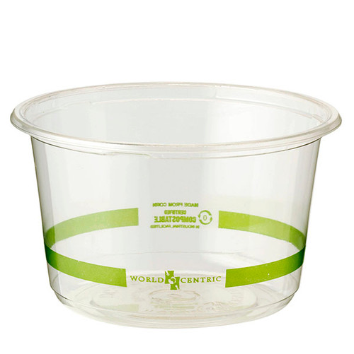 Custom Printed 16 oz Clear Round Deli Containers