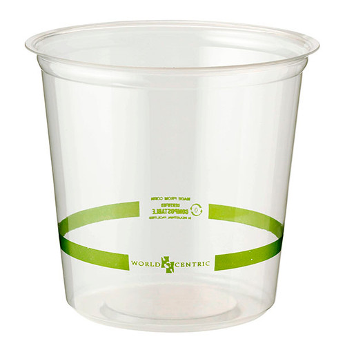 Custom Printed 24 oz Clear Round Deli containers