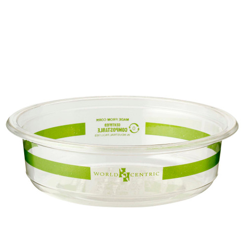 Custom print 8 oz Clear Round Deli Containers