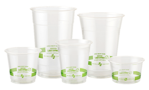 World Centric PLA Cups Sizes