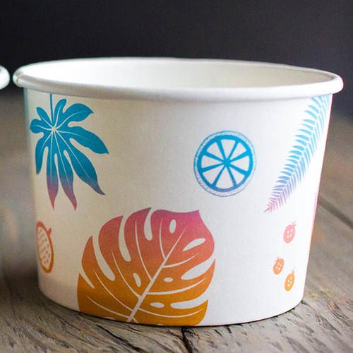 Custom Printed 8 oz Paper Bowls