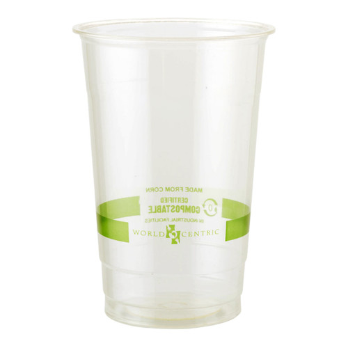 Custom Printed 32 oz Compostable Cold Cup