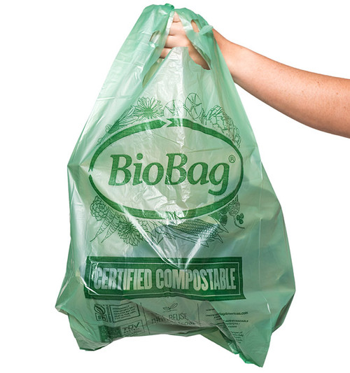 Large Compostable Shopping Bags Sample