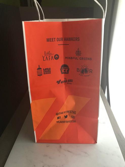 8b70319c5 ... 40% Recycled Shopping Bag |Custom Printed |8 x 4.75 x 10.25| 250