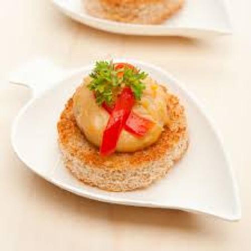 Mini Leaf Tasting Dish | Sugarcane | 100 count