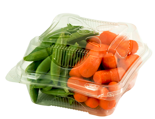 Compostable Plastic Clamshell Packaging KL-CS-6
