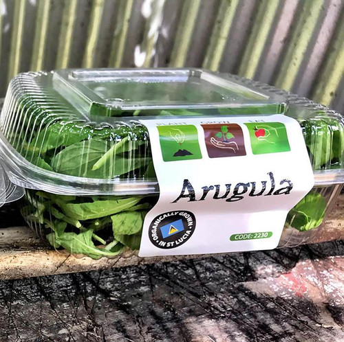 Leafy greens packaging