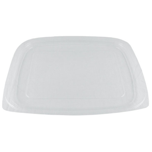 Lids for World Centric 24/32 oz. Clear, Rectangular Deli Containers RDL-CS-24