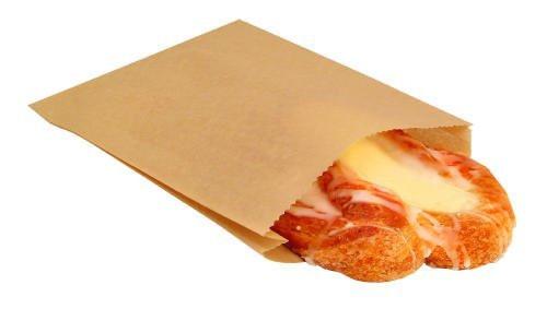 "Paper Sandwich & Pastry Bags 6.6"" x 1"" x 8"""