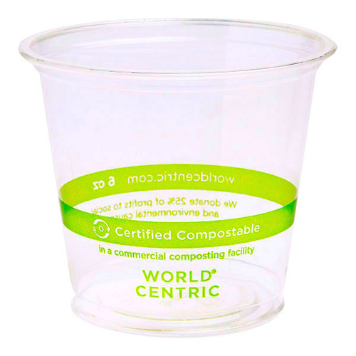 6 oz Compostable Cold Cups CP-CS-6