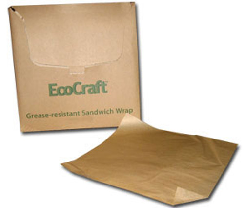 "EcoCraft Natural deli paper, 15"" x 16 300898"