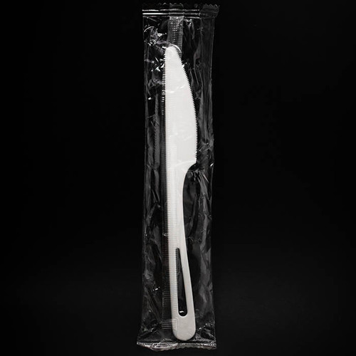 Compostable Knife Individually Wrapped KN-PS-I