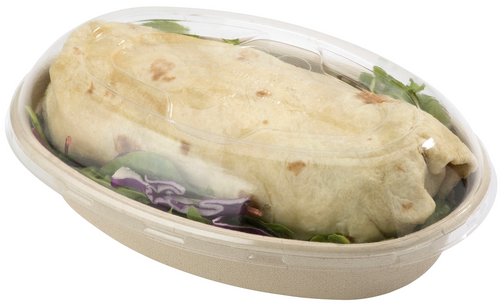Biodegradable 32 oz Burrito Bowl Lids BOL-CS-UBB