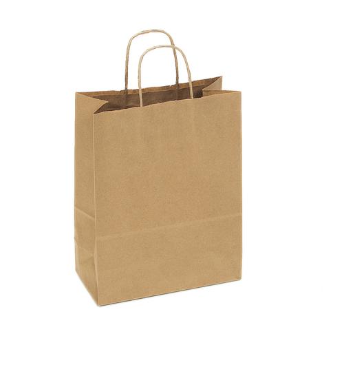 Recycled Kraft Shopping Bag S12NK
