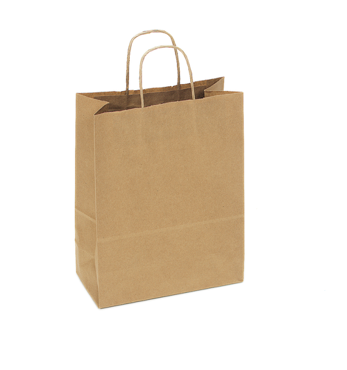 Recycled Kraft Shopping Bag S12NK