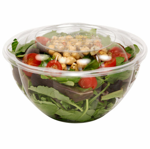 32 oz Clear PLA Salad Bowl SB-CS-32