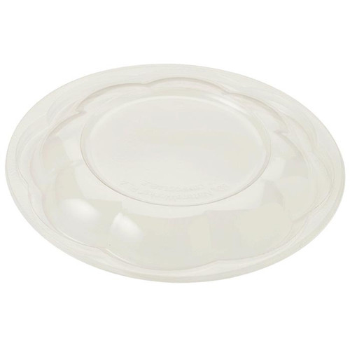 Dome Lid for 24, 32 and 48 oz World Centric Clear Salad Bowls