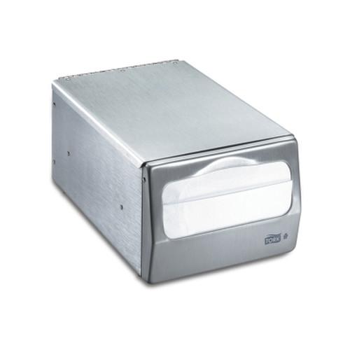 Tork Table Napkin Dispenser Brushed Steel TRK17CBS